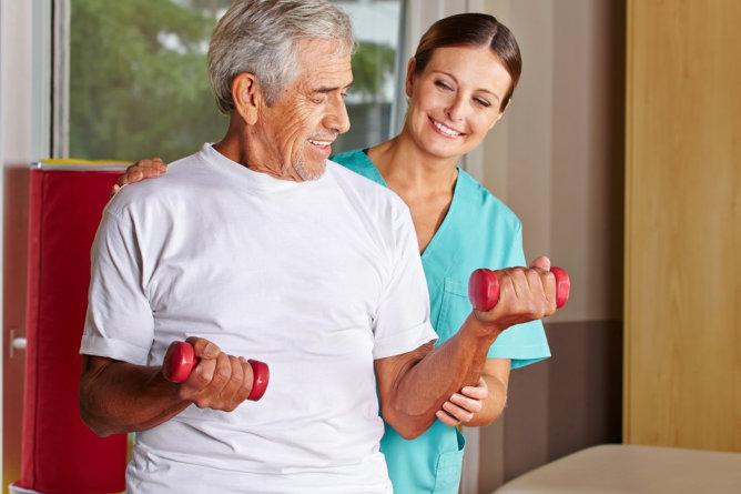 Simple Physical Exercises for the Elderly